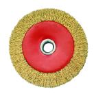 CEPILLO CIRCULAR DE ACERO LATONADO 100x30 MM