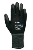 Luva nylon revestimento de poliuretano t9